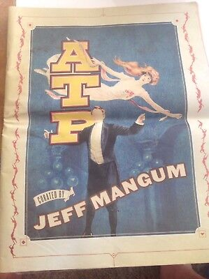 All Tomorrow's Parties Curated By Jeff Mangum Program/newspaper Atp Butlins  • 19.99£