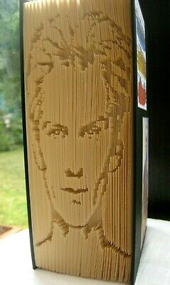 Sting - The Police - Folded Book Art - Portrait - Unique Gift - Handcrafted • 25.99£