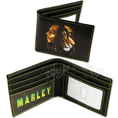 BOB MARLEY Lion Wallet  OFFICIAL • 12.99£