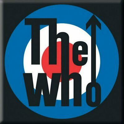 THE WHO Target Steel Magnet • 2.99£