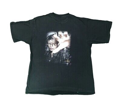 DAVID BOWIE Reality Tour T Shirt 2003/04 Size Large • 25£