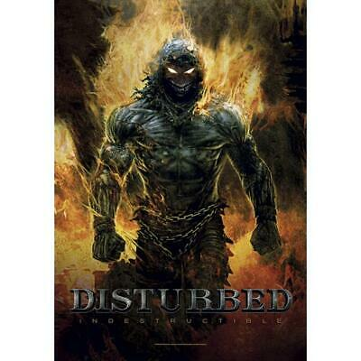 Disturbed Indestructable Textile Poster Fabric Flag • 9.99£