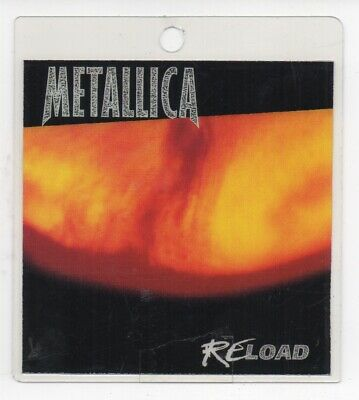 Original METALLICA Reload Access All Areas Laminated Pass London 13th Nov 1997  • 65£