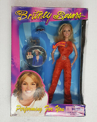 Singing Britney Spears Doll Performing For You 2000 Grammys Jumpsuit Very Rare 6 • 49.95£