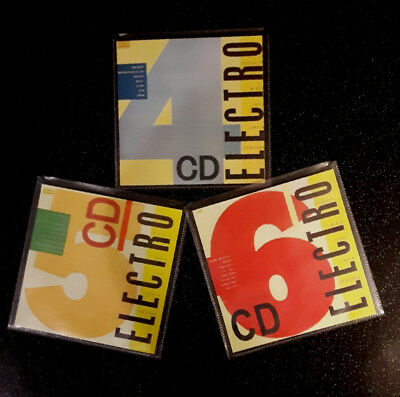 STREET SOUNDS 4 & 5 & 6 CDs  HIPHOP • 10£