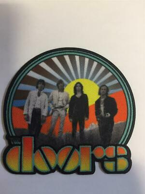 Official Licensed - The Doors - Waiting For The Sun Iron / Sew-on Patch Morrison • 6.50£