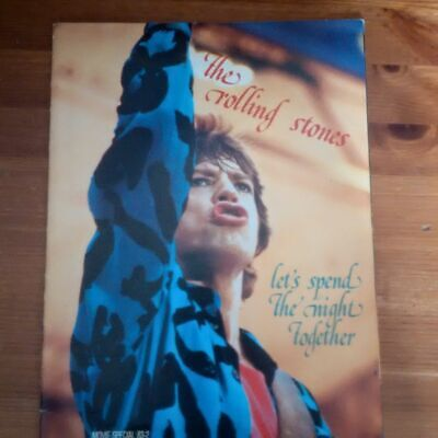 Rolling Stones Lets Spend The Night Together Movie Special Magazine • 2.50£