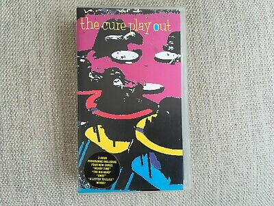 The Cure Play Out VHS Video Rare • 7£