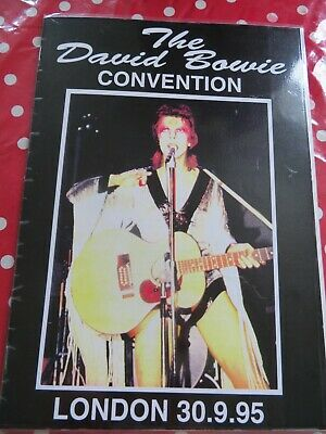 David Bowie - UK Convention - 1995 - London - Official Programme + XTRA • 10£
