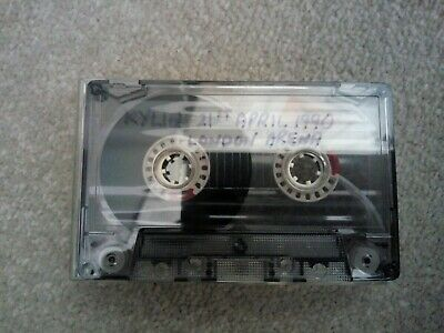 Kylie Minogue Bootleg Live Cassette From April 1990 London Arena • 12.99£