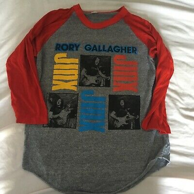 Rory Gallagher Jinx Tour Shirt 1982 Size M • 45£