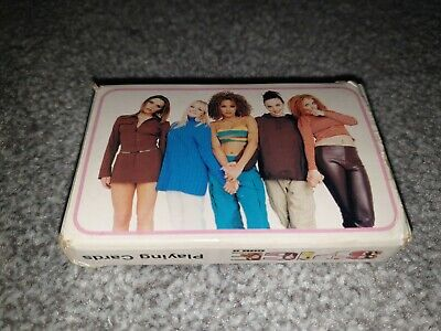 Spice Girls Official Playing Cards • 6£