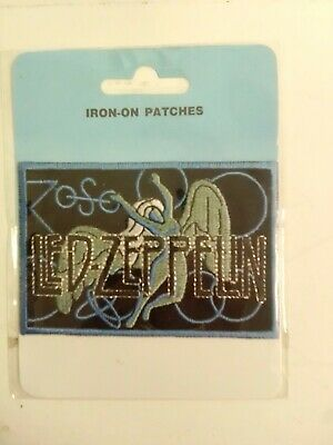 Led Zeppelin Iron On Small Patch • 1.61£
