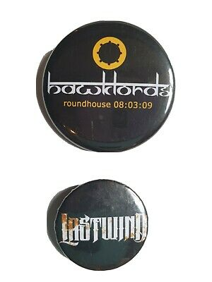 Hawklords Badge And Lastwind Badge • 2£