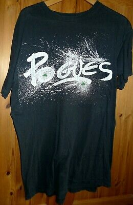 POGUES European Tour T Shirt Size L. • 7.99£
