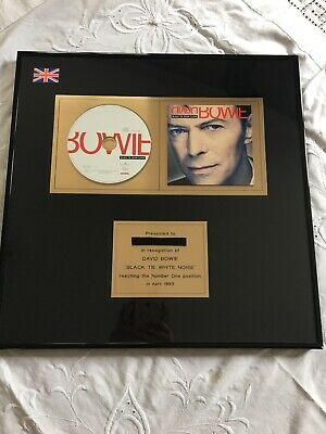David Bowie Very Rare  Presentation Disk  • 200£