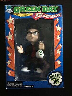 Green Day International Super Action Figure Billie Joe - Never Opened Or Played • 15£