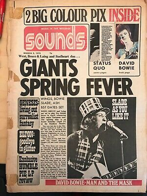 Sounds March 3 1973 • 1£