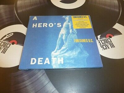Fontaines D.c. - A Hero's Death Cd Mint/sealed • 9.99£