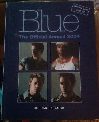 Book. Pop. Blue Offical Annual 2004 • 1.50£