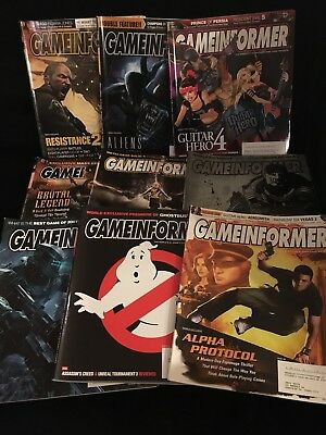 Gameinformer Magazine Lot Of 9-Video Games • 15.79£