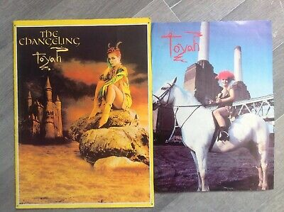 Toyah The Changeling Tour Programme And Brave New World Mag Poster • 14.99£