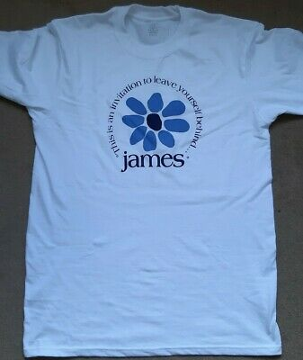 James The Band Tim Booth Sound Lyrics T Shirt New • 6£