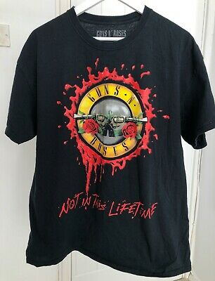 Men's Guns N' Roses Not In This Lifetime Official Tour T-Shirt - Size XL • 25£