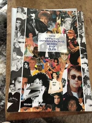 Queen Fan Club Magazine Winter 1992 • 7£