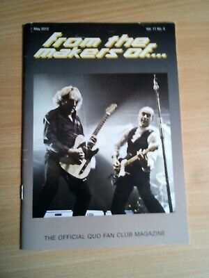 Status Quo FMTO Fan Club Magazine • 0.99£