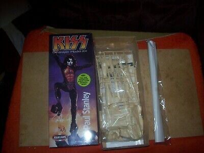 PAUL STANLEY - KISS - POLAR LIGHTS Destroyer Boxed. Excellent Condition. • 20£