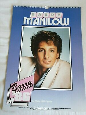 Barry Manilow 1986 Official Calender  • 2£