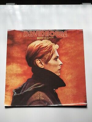 David Bowie 2017 Collectible -official 18 Month Wall Calendar • 20£