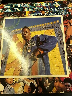Shabba Ranks _  Rappin' With The Ladies 12  Vinyl LP • 1£