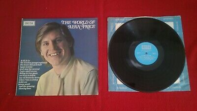Pcollectable , The World Of Alan Price, Vinyl Lp( On Decca Spa77). • 1.50£