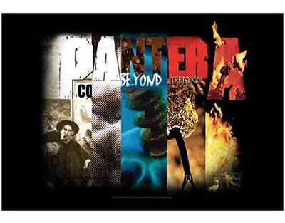PANTERA Textile Poster Fabric Flag COLLAGE • 9.99£