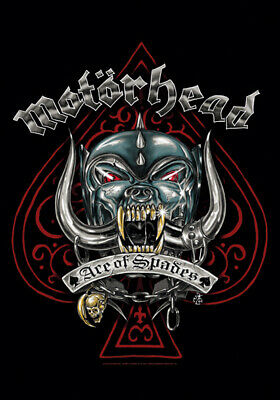 Motorhead Ace Tattoo Textile Poster Fabric Flag   • 9.99£