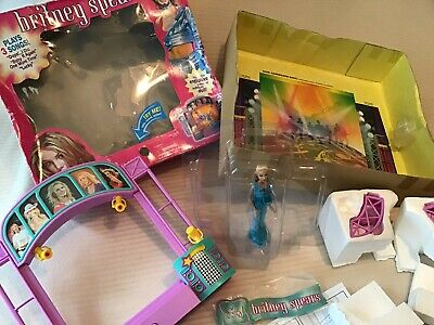 Britney Spears Toy Concert Stage & Doll Lights Sound Plays 3 Songs • 74.99£