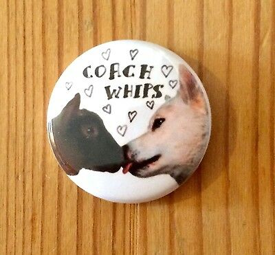 COACHWHIPS (BAND) - BUTTON PIN BADGE (25mm) • 1.45£
