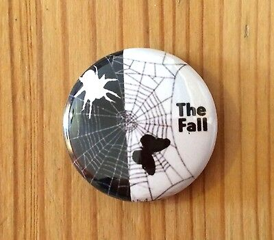 THE FALL (BAND) - BUTTON PIN BADGE (25mm) • 1.45£