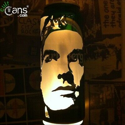 Morrissey Beer Can Lantern! The Smiths Pop Art Portrait Candle Lamp Unique Gift • 13.99£