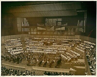 Original Vintage Photograph - London Symphony Orchestra - Festival Hall 1961 • 25£