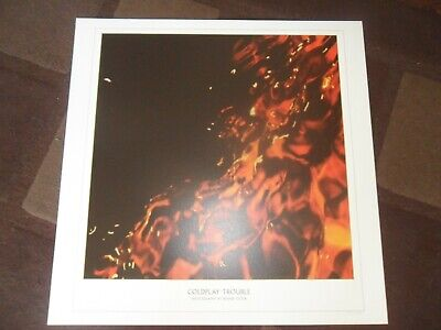 Coldplay .trouble  Numbered Lithograph Poster Mint • 69.99£