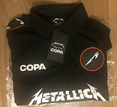 Metallica - Limited Copa Football Jersey Kit Medium New With Tags Tour 2019 • 59.95£