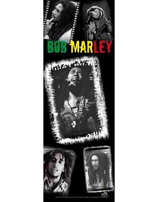 BOB MARLEY Textile DOOR Poster Fabric Flag  • 9.99£