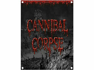 CANNIBAL CORPSE Textile Poster Fabric Flag  • 8.99£