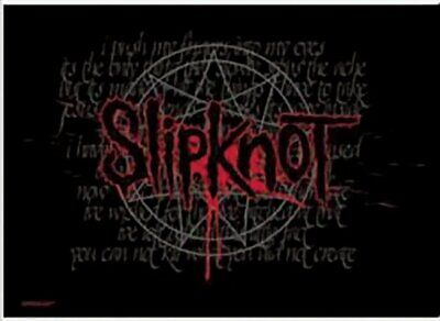 SLIPKNOT Textile Poster Fabric Flag SPLATTERED • 9.99£