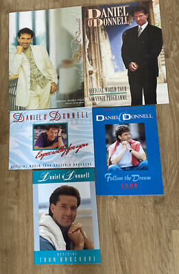 5 Daniel O'Donnell Tour Brochures - 1991/94/95/97 And Follow The Dream  • 32.99£