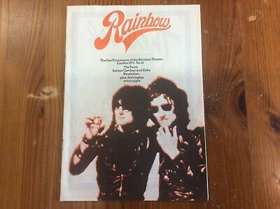 The Faces Rod Stewart Theatre Concert Programme 1972 Very Good Condition • 6.59£