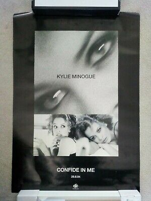 Kylie Minogue Promo Poster Confide In Me • 50£